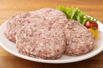 宮崎牛100%粗挽きハンバーグ