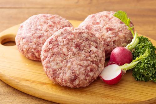 国産牛:国産豚=5:5ハンバーグ